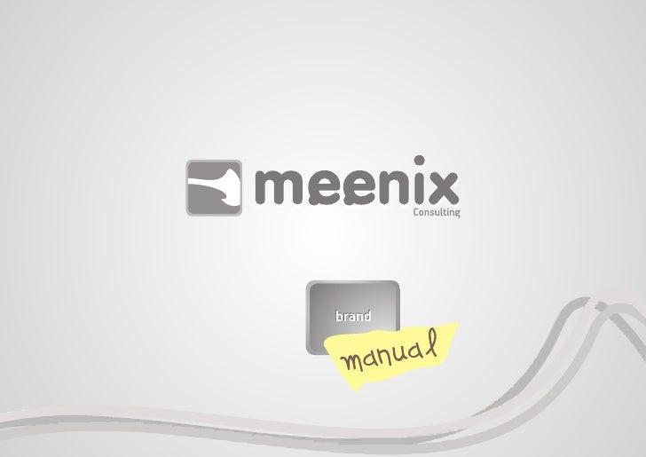 Meenix.eu Brand Manual