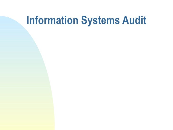 3c   2   Information Systems Audit