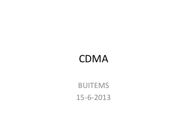 3 c3 cdma