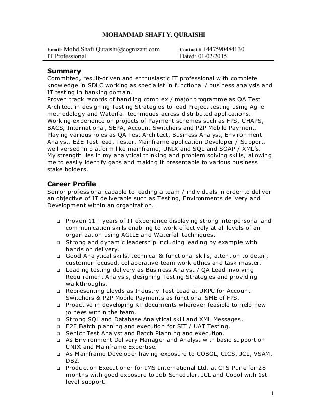 Chappell resume bank