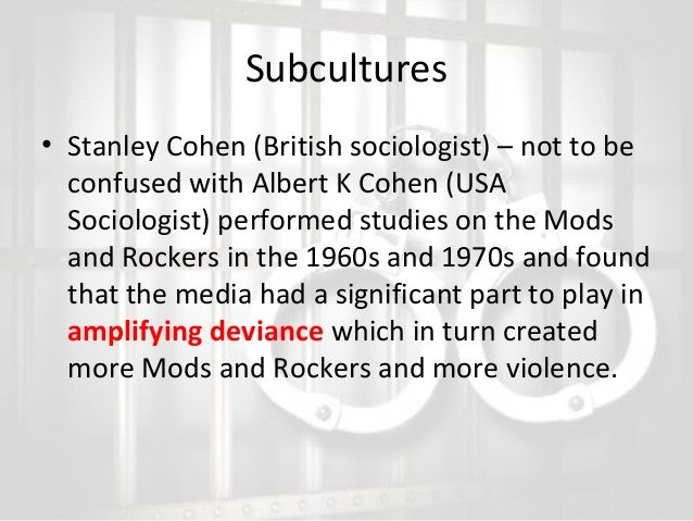"""albert cohen and delinquent subculture Rethinking subculture and subcultural theory in the study of youth crime cohen concludes that this delinquent subculture is """"non-utilitarian""""."""