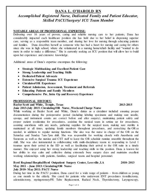 resume current 2015