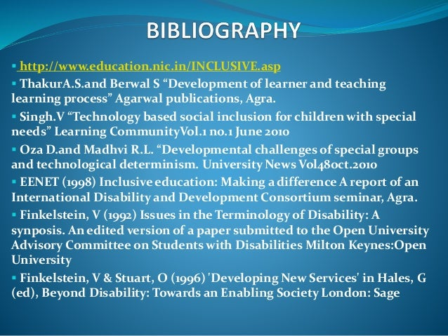 inclusion research papers Free full inclusion papers, essays, and research papers.