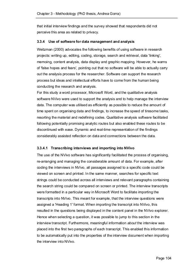 Phd thesis andrea gorra