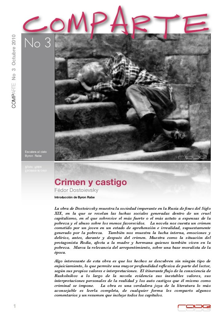 Crimen y castigo (resumen)