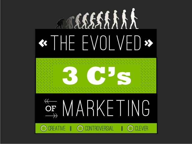 The Evolved 3 C's of Marketing