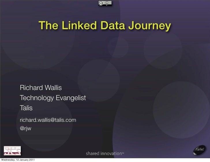 The Linked Data Journey              Richard Wallis              Technology Evangelist              Talis              ric...