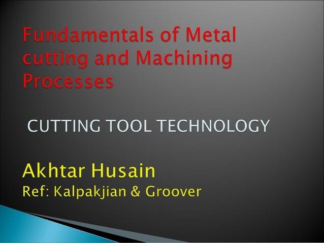 Cutting tool tech