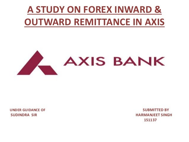 Book my forex axis bank
