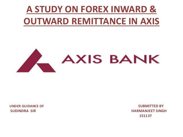 Forex trading through axis bank