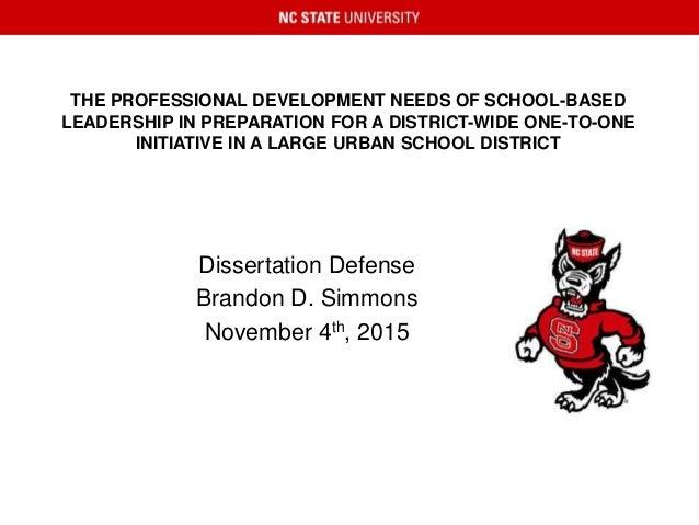 Dissertation defense preparation