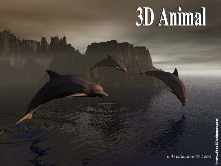 3 D  Animal (download to see effects)