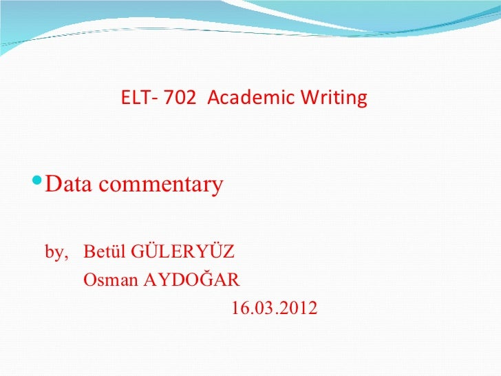 ib english commentary thesis The comparative commentary english  if you are the original writer of this essay and no longer wish to have the essay published on the uk essays website .