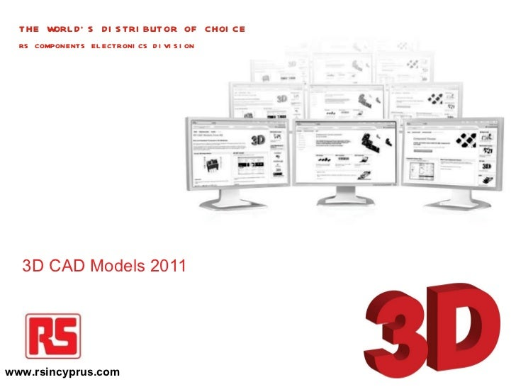 3d cad models by rs components Cad models