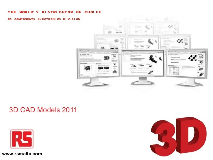 3D CAD Models......by RS Components