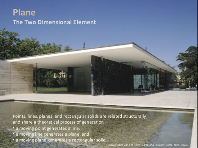 Element of Design Point Element Points Lines