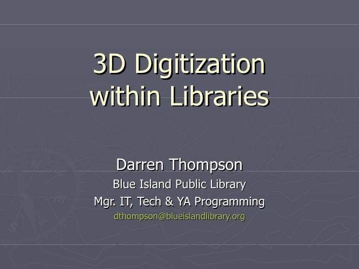 LACONI Tech Trends: 3D Digitization