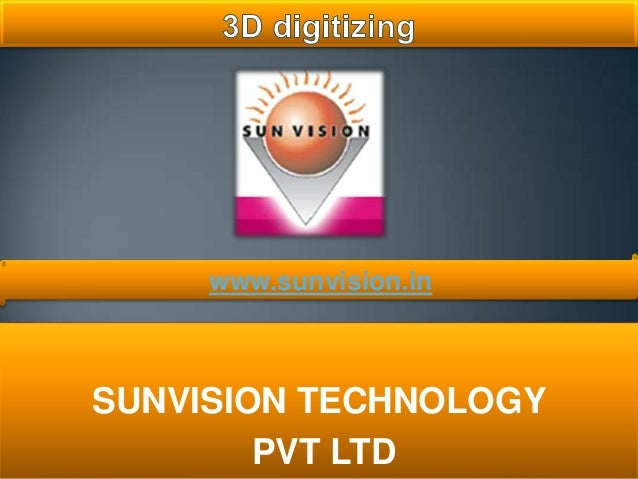 SUNVISION TECHNOLOGY PVT LTD www.sunvision.in