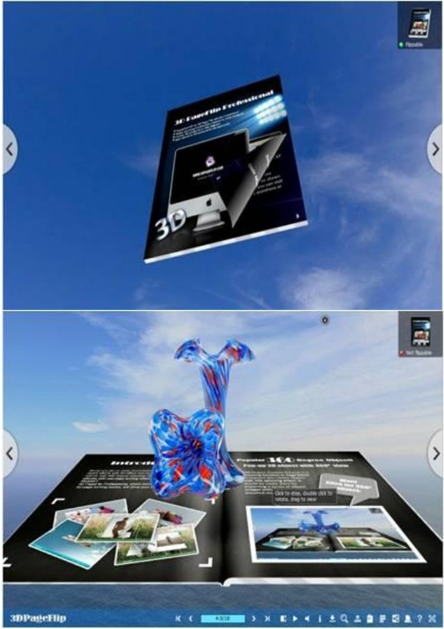 3d ebook with rich multimedia content