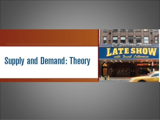 3 demand theory