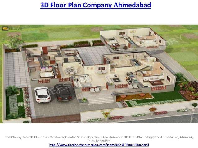3d floor plan company ahmedabad