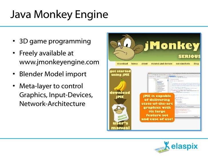 Java Monkey Engine ● 3d Game