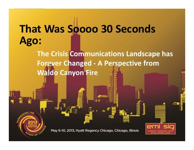 Crisis Communications Landscape has Forever Changed