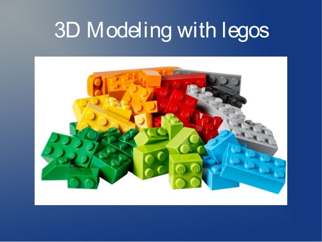 3D Modeling with legos