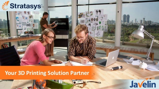 Stratasys 3D Printers from Javelin