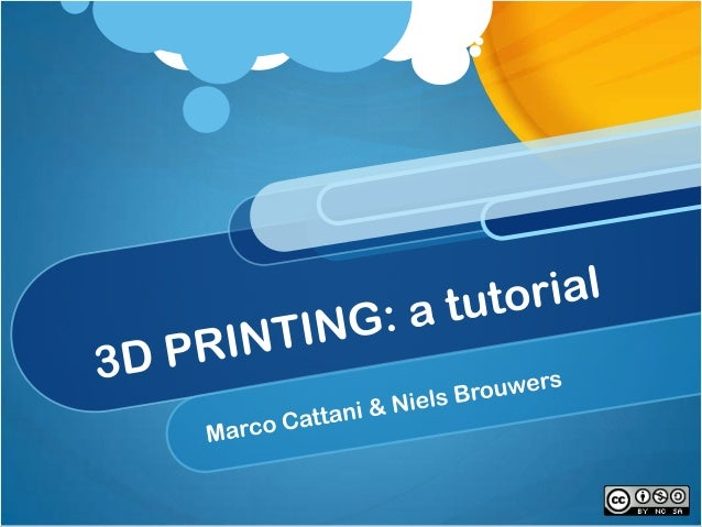 3dprint tutorial