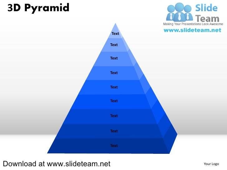 3 d pyramid powerpoint diagrams and powerpoint templates. Black Bedroom Furniture Sets. Home Design Ideas