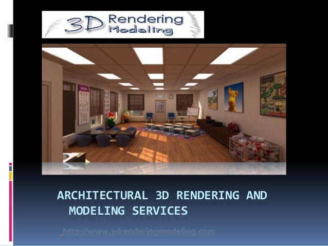 Architectural 3D Rendering for all en-compassing views
