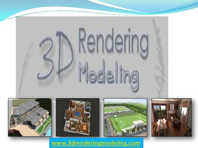 Wide-Ranging 3D Modeling And Rendering Services With Quick Turnaround Time