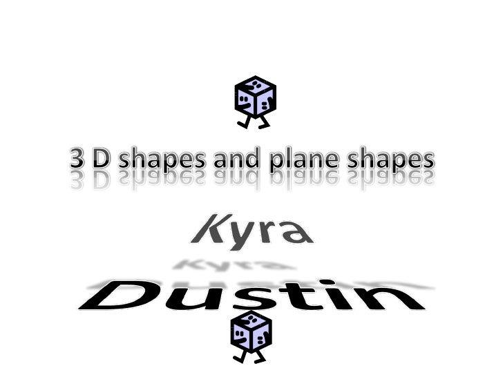 3d Shapes Plane Shapes