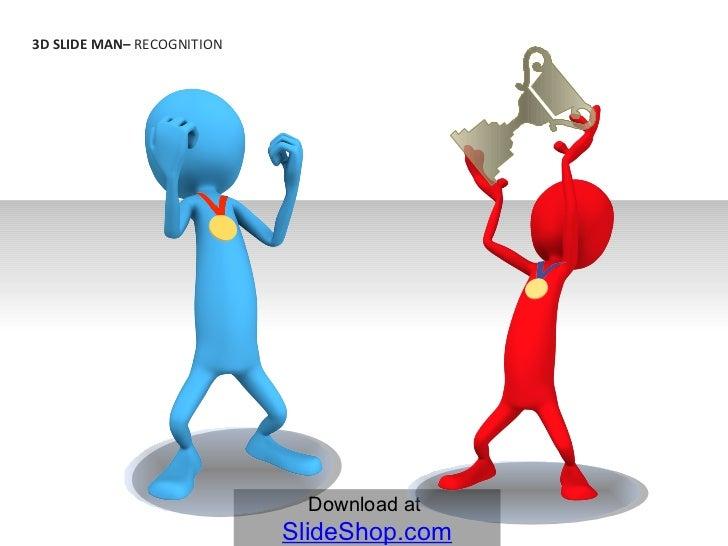 3D Slide Man - Recognition