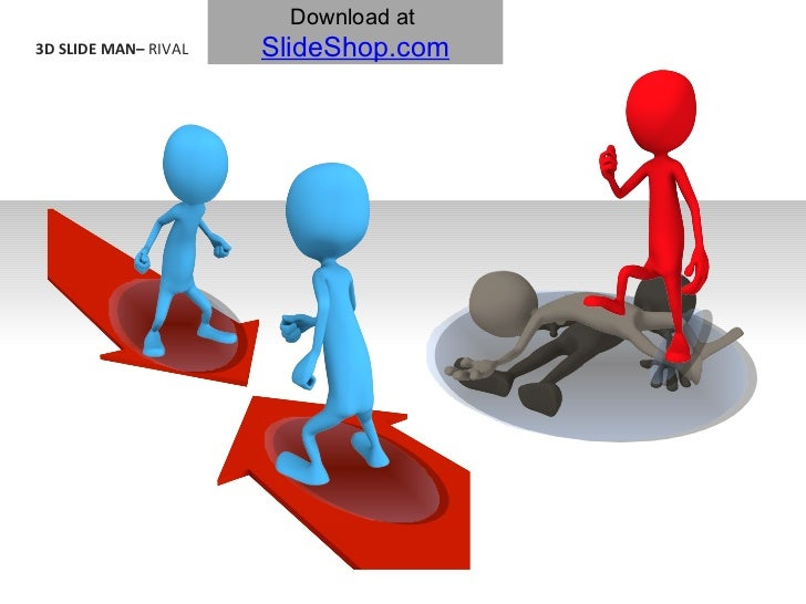 3D SLIDE MAN–  RIVAL