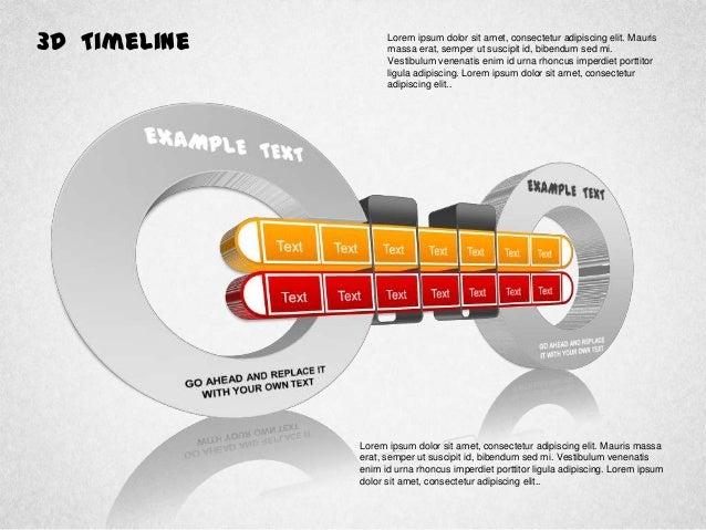 3D Timeline Diagram