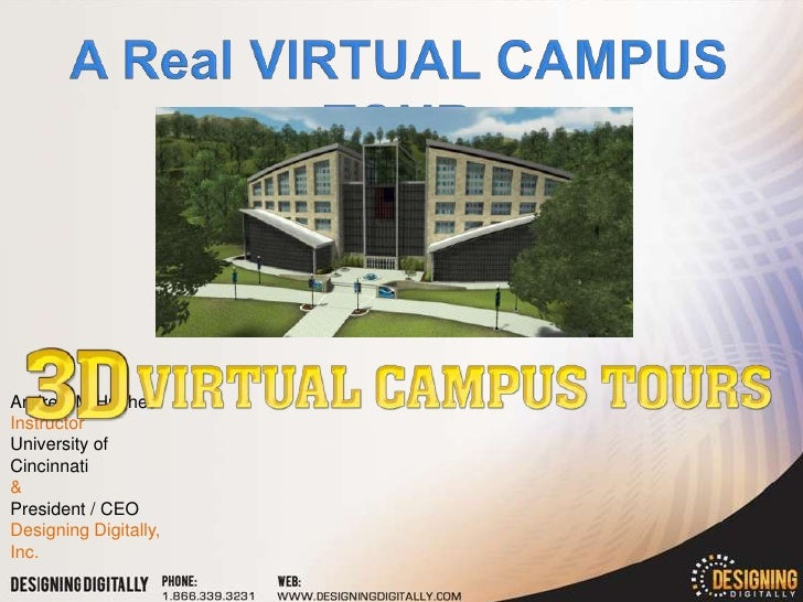 3D Virtual Campus Tours Presentation