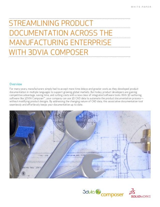 Streamlining Product Documentation Across the Manufacturing Enterprise