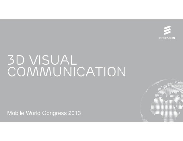 3D visual communication