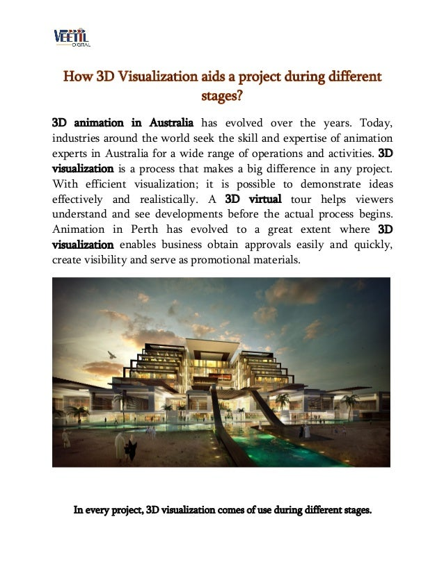 How 3D Visualization aids a project during different stages? 3D animation in Australia has evolved over the years. Today, ...