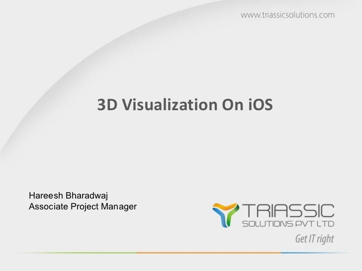 3D Visualization on iOS