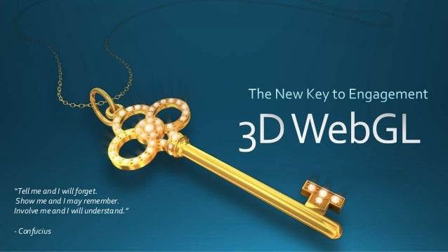 The New Key to Online Engagement 3D WebGL