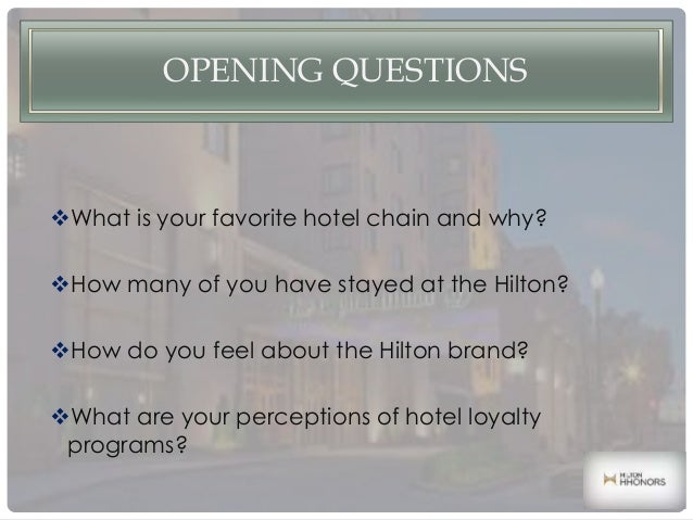 hilton hhonors loyalty wars case study Free essays on case 14 hilton hhonors worldwide loyalty wars with study question and answer for students use our papers to help you with yours 1 - 30.