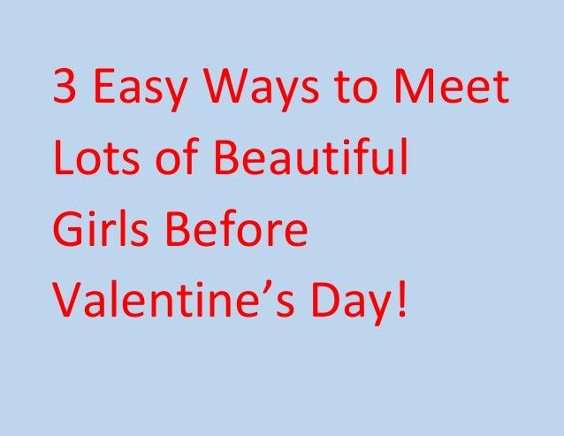 how to meet new women
