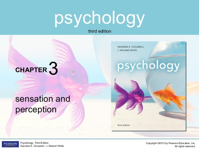 PSYC1101 Chapter 3 Powerpoint