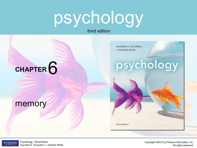 PSYC1101 Chapter 6 PowerPoint