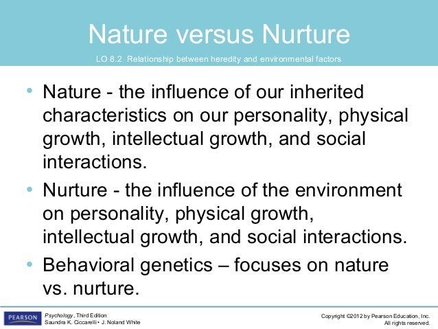 Nature Vs Nurture And Physical Development