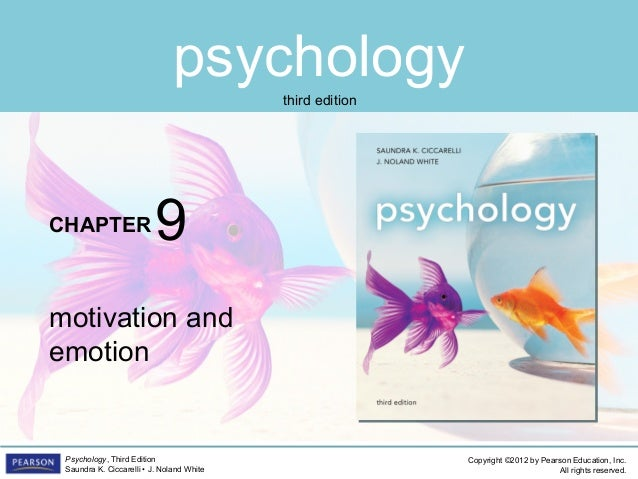PSYC1101 Chapter 9 PowerPoint