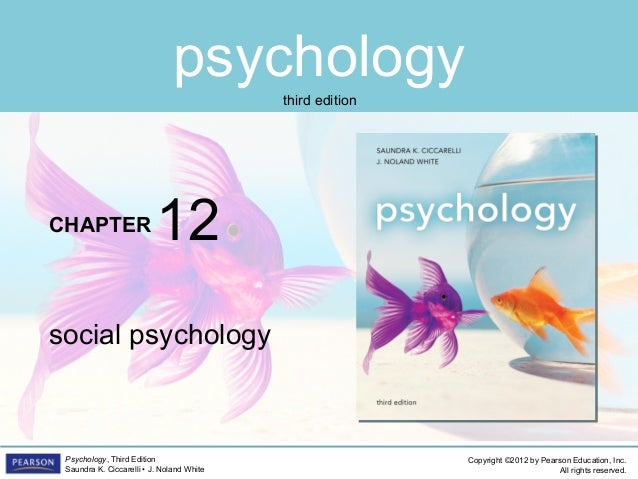 PSYC1101 Chapter 12 PowerPoint